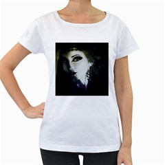 Goth Bride Women s Loose-Fit T-Shirt (White)