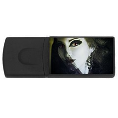 Goth Bride USB Flash Drive Rectangular (4 GB)