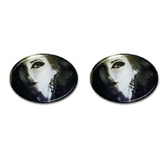 Goth Bride Cufflinks (Oval)