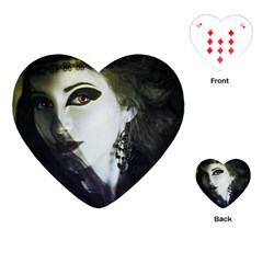 Goth Bride Playing Cards (Heart)