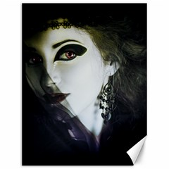 Goth Bride Canvas 12  x 16