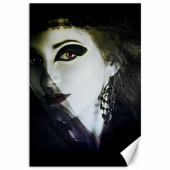 Goth Bride Canvas 12  x 18