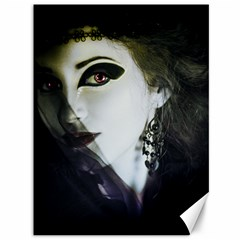 Goth Bride Canvas 36  x 48