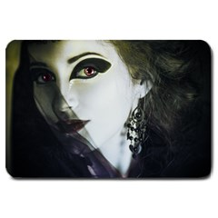 Goth Bride Large Doormat