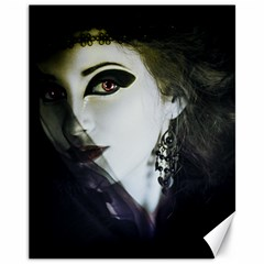 Goth Bride Canvas 11  x 14