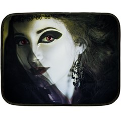 Goth Bride Fleece Blanket (Mini)