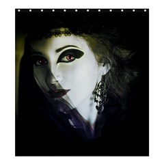 Goth Bride Shower Curtain 66  x 72  (Large)