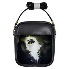 Goth Bride Girls Sling Bags