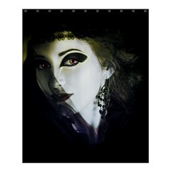 Goth Bride Shower Curtain 60  x 72  (Medium)