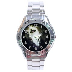 Goth Bride Stainless Steel Analogue Watch