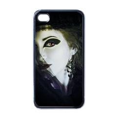 Goth Bride Apple iPhone 4 Case (Black)