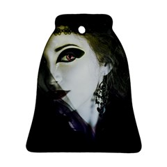 Goth Bride Bell Ornament (Two Sides)