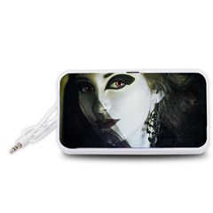 Goth Bride Portable Speaker (White)