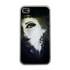 Goth Bride Apple iPhone 4 Case (Clear)