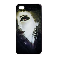 Goth Bride Apple iPhone 4/4s Seamless Case (Black)