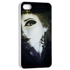 Goth Bride Apple iPhone 4/4s Seamless Case (White)