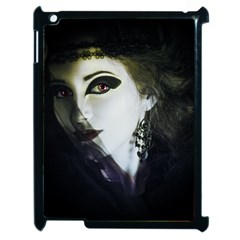 Goth Bride Apple iPad 2 Case (Black)