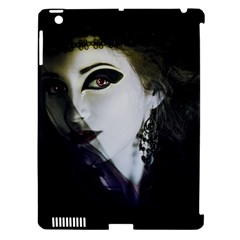 Goth Bride Apple iPad 3/4 Hardshell Case (Compatible with Smart Cover)