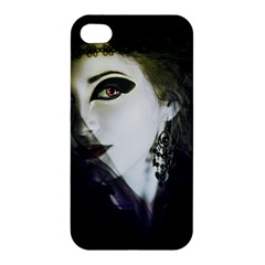 Goth Bride Apple iPhone 4/4S Premium Hardshell Case