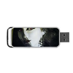 Goth Bride Portable USB Flash (One Side)