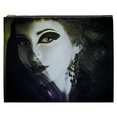 Goth Bride Cosmetic Bag (XXXL)