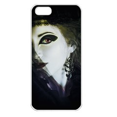 Goth Bride Apple iPhone 5 Seamless Case (White)