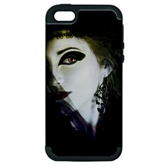 Goth Bride Apple iPhone 5 Hardshell Case (PC+Silicone)