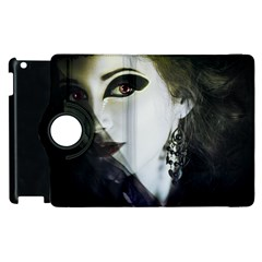 Goth Bride Apple iPad 2 Flip 360 Case