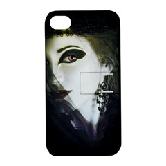 Goth Bride Apple iPhone 4/4S Hardshell Case with Stand