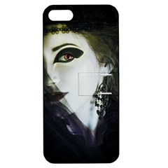 Goth Bride Apple iPhone 5 Hardshell Case with Stand