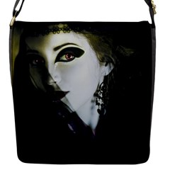 Goth Bride Flap Messenger Bag (S)