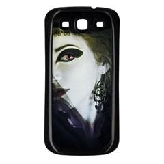 Goth Bride Samsung Galaxy S3 Back Case (Black)
