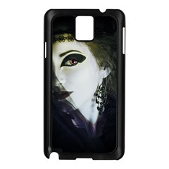 Goth Bride Samsung Galaxy Note 3 N9005 Case (Black)