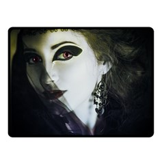Goth Bride Double Sided Fleece Blanket (Small)