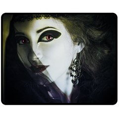Goth Bride Double Sided Fleece Blanket (Medium)
