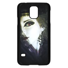 Goth Bride Samsung Galaxy S5 Case (Black)