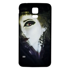 Goth Bride Samsung Galaxy S5 Back Case (White)