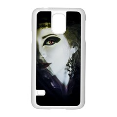Goth Bride Samsung Galaxy S5 Case (White)
