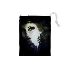 Goth Bride Drawstring Pouches (Small)