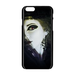 Goth Bride Apple iPhone 6/6S Black Enamel Case