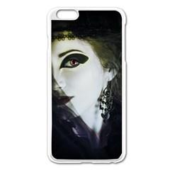 Goth Bride Apple iPhone 6 Plus/6S Plus Enamel White Case