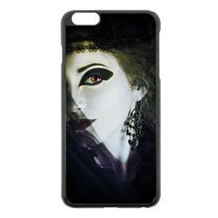 Goth Bride Apple iPhone 6 Plus/6S Plus Black Enamel Case