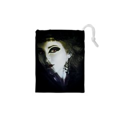 Goth Bride Drawstring Pouches (XS)
