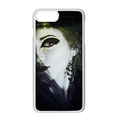 Goth Bride Apple iPhone 7 Plus White Seamless Case