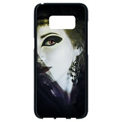 Goth Bride Samsung Galaxy S8 Black Seamless Case