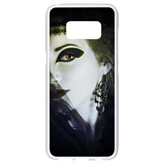 Goth Bride Samsung Galaxy S8 White Seamless Case