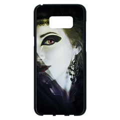 Goth Bride Samsung Galaxy S8 Plus Black Seamless Case