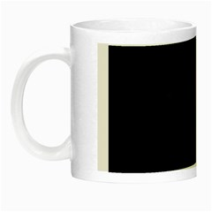 Goth Girl Red Eyes Night Luminous Mugs