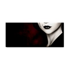 Goth Girl Red Eyes Cosmetic Storage Cases