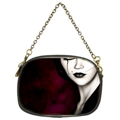 Goth Girl Red Eyes Chain Purses (One Side)
